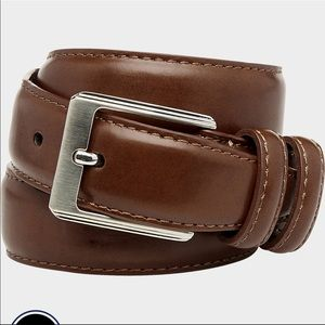 Men's Wearhouse Cognac Boys Leather Belt